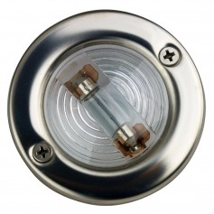 Sea-Dog Stainless Steel Round Transom Light
