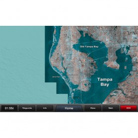 Garmin Standard Mapping - Florida West Pen Classic microSD-SD Card