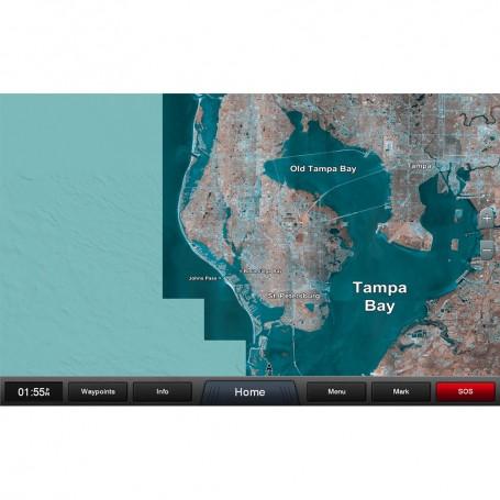 Garmin Standard Mapping - Florida West Pen Classic microSD-SD Card