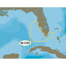 C-MAP NT- NA-C393 Miami to Key West to Tampa - C-Card Format