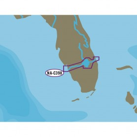 C-MAP NT- NA-C398 Okeechobee Waterway - C-Card Format
