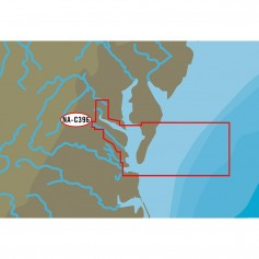 C-MAP NT- NA-C396 Chesapeake Bay from Pocomoke River to Norfolk - C-Card Format