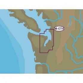 C-MAP NT- NA-C714 Puget Sound Straits of Juan De Fuca - C-Card Format