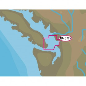 C-MAP NT- NA-C715 San Juan Islands - C-Card Format
