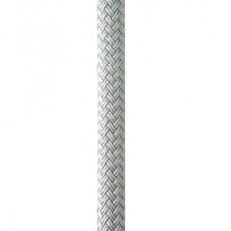 New England Ropes 3-8- x 15 Nylon Double Braid Dock Line - White