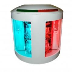 Aqua Signal Series 43 Bi-Color Side Mount Light - 12V-24V - White Housing