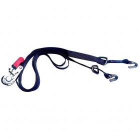 Rod Saver PWC Rubber Ratchet Gunwale Tie-Down - 1- x 10
