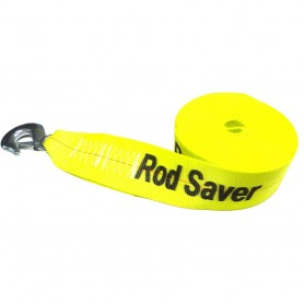 Rod Saver Heavy-Duty Winch Strap Replacement - Yellow - 3- x 25