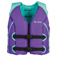 Onyx All Adventure Youth Life Jacket - 50-90lbs - Purple