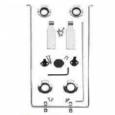 Edson Hardware Kit f-Luncheon Table - Clamp Style