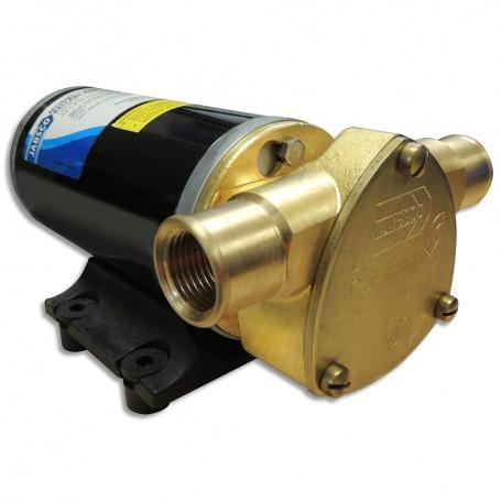 Jabsco Ballast King Bronze DC Pump w-Reversing Switch - 15 GPM