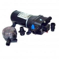 FloJet 24V- 40psi Heavy Duty Water Pressure Pump - 4-3 GPM