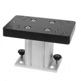 Cannon Aluminum Fixed Base Downrigger Pedestal - 4-