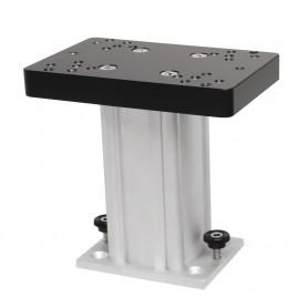 Cannon Aluminum Fixed Base Downrigger Pedestal - 6-