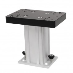 Cannon Aluminum Fixed Base Downrigger Pedestal - 6-