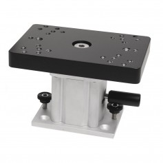 Cannon Aluminum Swivel Base Downrigger Pedestal - 4-
