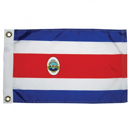 Taylor Made Costa Rican Nylon Flag 12- x 18-