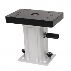 Cannon Aluminum Swivel Base Downrigger Pedestal - 6-