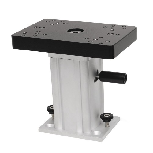 Cannon Aluminum Swivel Base Downrigger Pedestal - 6-