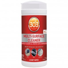 303 Multi-Surface Cleaner Wipes - 40 Towelettes -Case of 6-