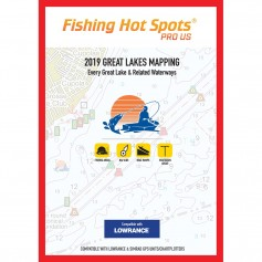 Fishing Hot Spots Pro GL 2019 Great Lakes Mapping Every Great Lake Related Waterway for Lowrance Simrad Units