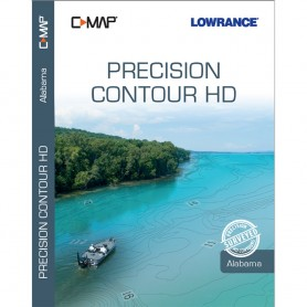 Lowrance C-MAP Precision Contour HD Chart - Alabama