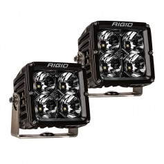 RIGID Industries Radiance Pod XL - Black Case w-White Backlight - Pair