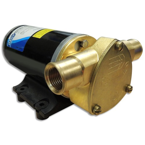 Jabsco Ballast King Bronze DC Pump w-Deutsch Connector w-o Reversing Switch - 15 GPM