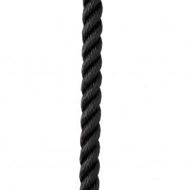 New England Ropes 1-2- X 15 Premium Nylon 3 Strand Dock Line - Black