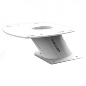 Scanstrut PowerTower 6- Aluminum 2kW-4kW Raymarine- Garmin Navico BR24-3G-4G - Forward Leaning