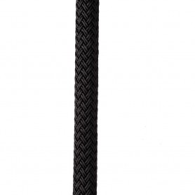New England Ropes 1-2- X 35 Nylon Double Braid Dock Line - Black