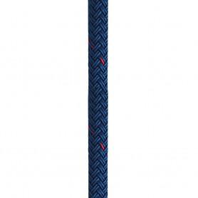 New England Ropes 5-8- X 25 Nylon Double Braid Dock Line - Blue w-Tracer