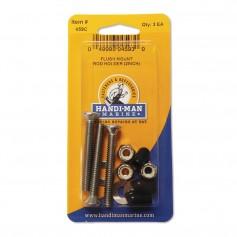 Handi-Man Flush Mount Rod Holder Kit - 2-