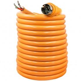SmartPlug 50 Amp 50 Harmonized Cord w-Dockside NEMA SS2-50R Twist-Type Connector w-Blunt End