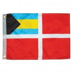 Taylor Made Bahamas Courtesy Flag 12- x 18-