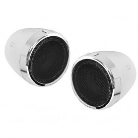 Boss Audio MC425BA 600W Motorcycle-ATV Sound System w-Bluetooth - Chrome