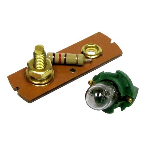 Faria 12V to 24V Adapter f-Oil Pressure Gauges -5 to 10 Bar-