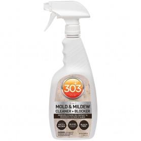 303 Mold Mildew Cleaner Blocker with Trigger Sprayer - 32oz -Case of 6-