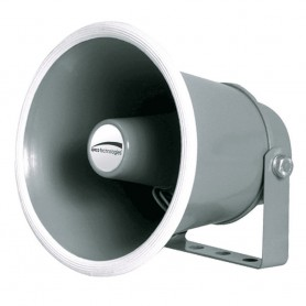 Speco 6- Weather-Resistant Aluminum Speaker Horn 8 Ohms