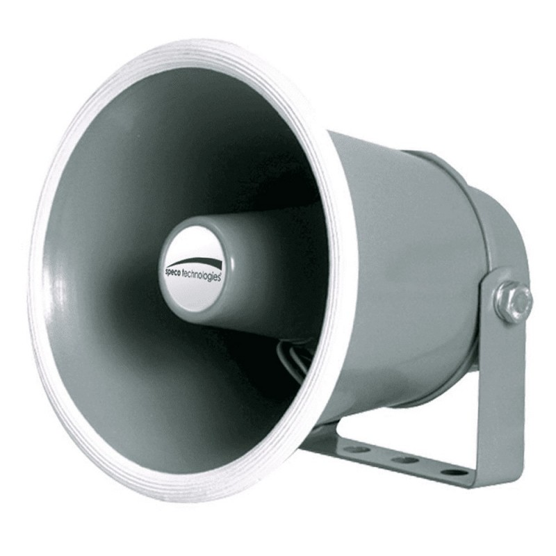 Speco 6- Weather-Resistant Aluminum Speaker Horn 8 Ohms