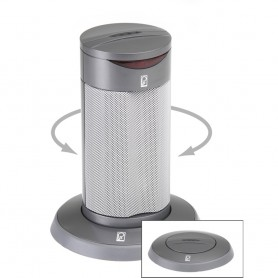 Poly-Planar Round Waterproof Pop-Up Spa Speaker - Gray