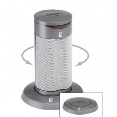 Poly-Planar Round Waterproof Pop-Up Spa Speaker - Gray