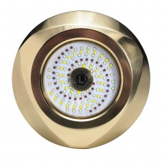 Lumitec Typhoon Underwater Bronze Thru-Hull LED Light - RGBW Spectrum
