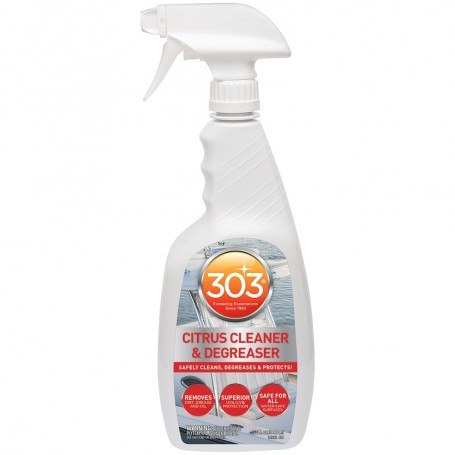 303 Marine Citrus Cleaner Degreaser with Trigger Sprayer - 32oz -Case of 6-