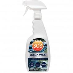 303 Marine Quick Wax with Trigger Sprayer - 32oz -Case of 6-