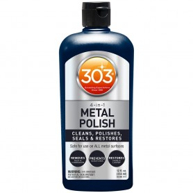 303 4-In-1 Metal Polish - 12oz -Case of 6-