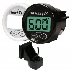 HawkEye DepthTrax 2B In-Dash Digital Depth Gauge - TM-In-Hull