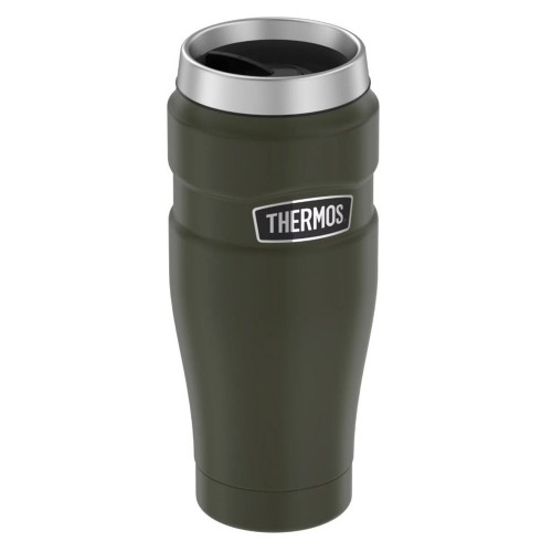 Thermos Stainless King Vacuum Insulated Stainless Steel Travel Tumbler - 16oz - Matte Army Green
