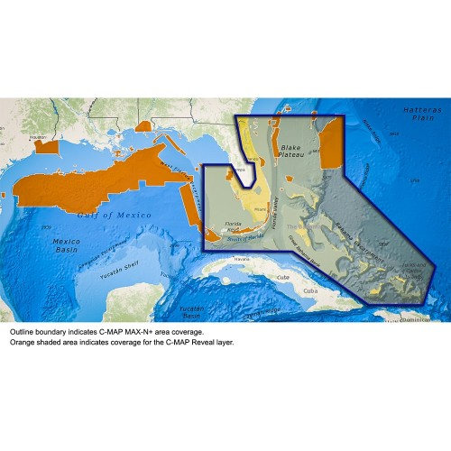 C-MAP Reveal - Florida The Bahamas