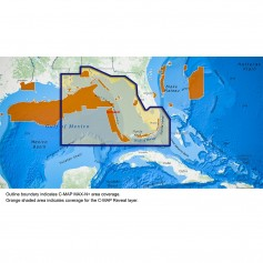 C-MAP Reveal - US - Port St- Lucie to New Orleans St- Lucie Inlet FL to New Orleans LA